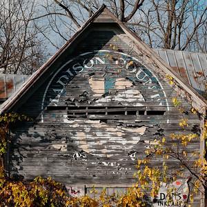 Madison County Barn, NY. October 2020