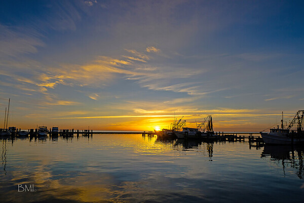 Sunrise at Fulton Harbor