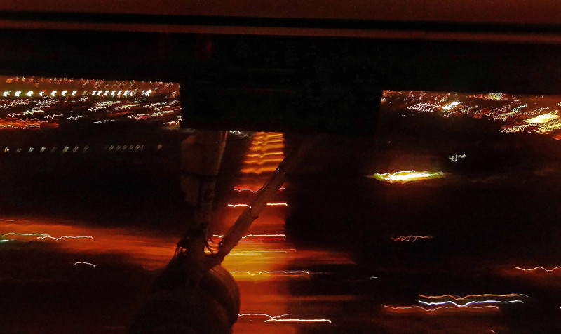 Night landing Portland Oregon
