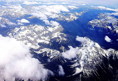 Canadian Rockies near Calgary