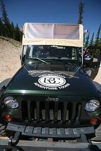 BEAVER CREEK, CO - Jeep Ride