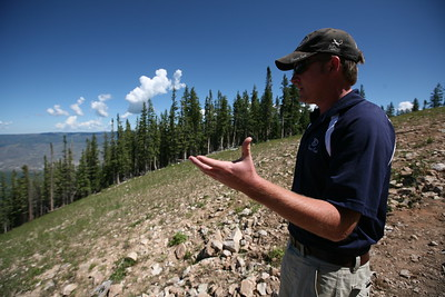 BEAVER CREEK, CO - Jeep Ride guide and driver Travis Achen talks about the significance of The Brink at Beaver Creek