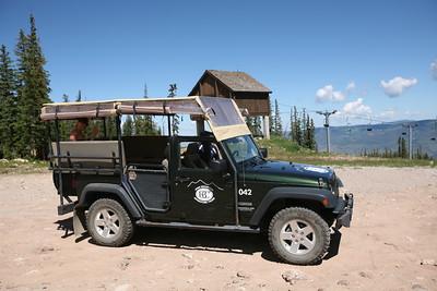 BEAVER CREEK, CO - Jeep ride.