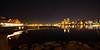 The San Diego skyline as seen from The Coronado Ferry Landing. Format 1:2