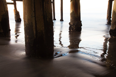 Under the Pier, Crystal Pier in Pacific Beach