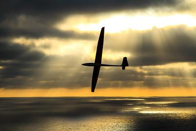 Glider at Torrey Pines