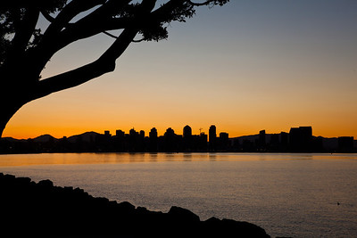 """Sunrise San Diego"", from Harbor Island"
