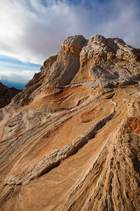 """Sarah's Swirl"" , Swirls in Sandstone,, White Pocket, Paria Canyon/Vermilion Cliffs Wilderness"