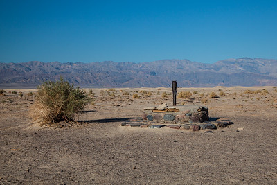 The original Stovepipe Well, Death Valley Nat. Park
