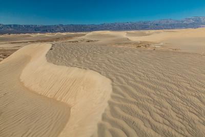 Mesquite Flats Sand Dunes, Death Valley Nat. Park