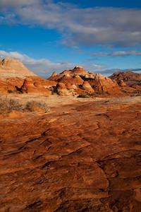"""""""Burnt Orange Landscape"""", North Coyote Buttes"""