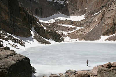 CHASM LAKE, CO -