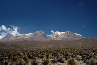 Climbing El Chachani (6,075m/19,983ft) in Southern Peru, near Arequipa. Cameron, Andreas, Francisco, Christoph & Jose the guide.