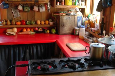 Gray Knob Kitchen