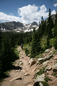 MT. AUDUBON, CO (13,290') - A gentle hike in the Brainard Lake Recreation Area.