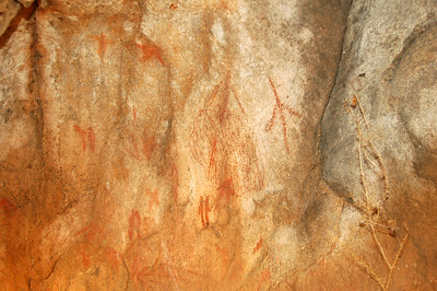 More Aboriginal Cave paintings.