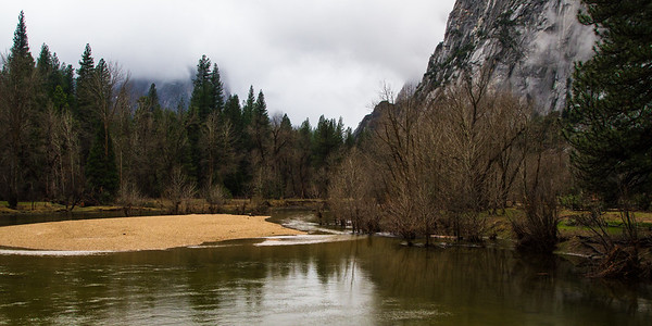 Morning on the Merced River