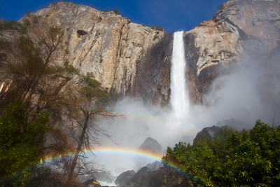 """Bridalvail Falls"", Yosemite National Park"