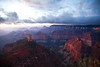 Point Imperial & Mt. Hayden. North Rim, Grand Canyon National Park at sunrise