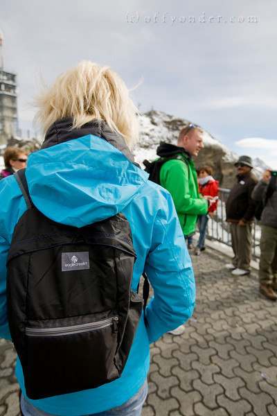TITLIS, SWITZERLAND - Bungee jumping, stunning views & ice caves. 2012 ATWS Day of Adventure Tour 5