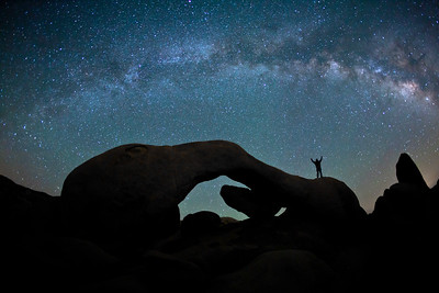 """Your Heavens"",  Arch Rock, Joshua Tree National Park"