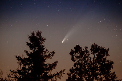 Comet Neowise taken from Mt Laguna