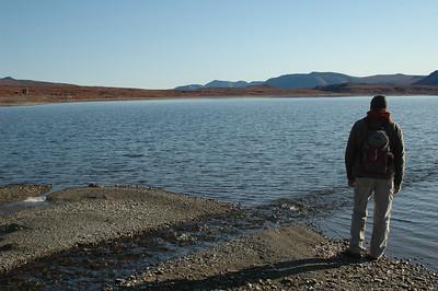 Walking around Salmon Lake