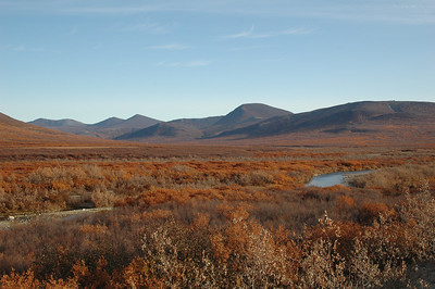 The open landscape beyond Nome.