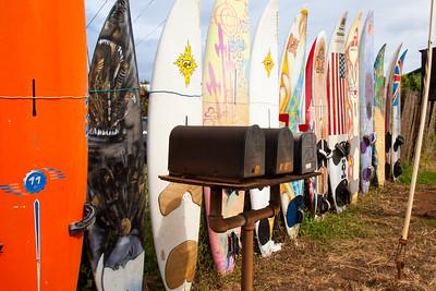 Board Fence, Paia, Maui