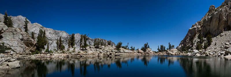 Lone Pine Lake on the hike up to Mt. Whitney