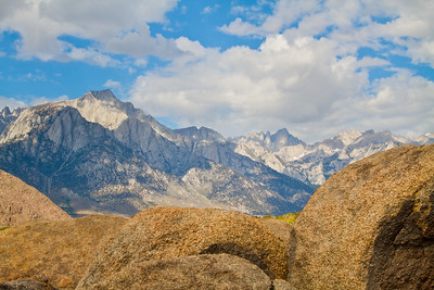 Lone Pine Peak & Mount Whitney, from the Alabama Hills
