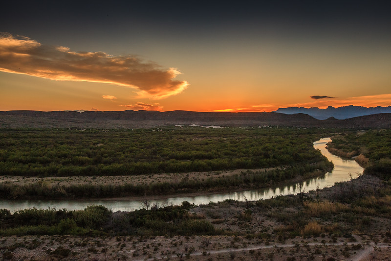 View from Boquillas Canyon Overlook