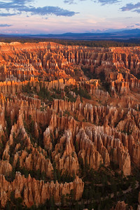 Bryce Cathedral at sunrise, Bryce Canyon National Park