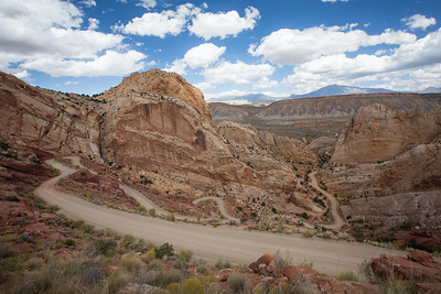 Capitol Reef, The Switchbacks