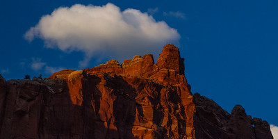 Sunset, Capitol Reef