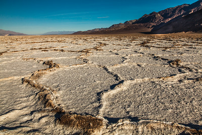 Salt Flats in Badwater Basin