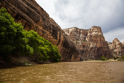 """Tiger Wall""' on the Yampa River."