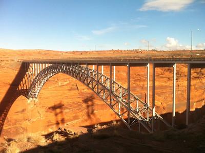 Bridge at the Glen Canyon Dam