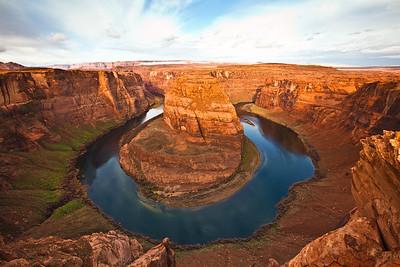 """Horseshoe Bend"",  on the Colorado River, Page Arizona"