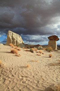 Toadstool hoodoos of the Paria Rimrock. An area easily accessible by a short hike from US89 in southern Utah.