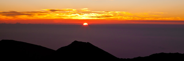Sunrise at Haleakala, Maui, Hawall format 3:1