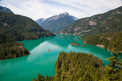 Diablo Lake from Diablo Lake Vista Point