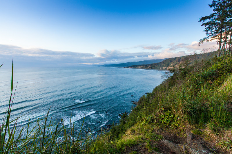The rugged Northern California coast