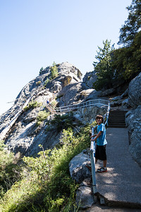 Stairway  to Moro Rock