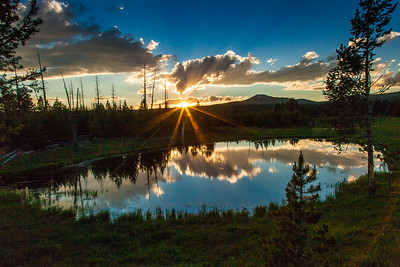 Sunrise, Yellowstone National Park