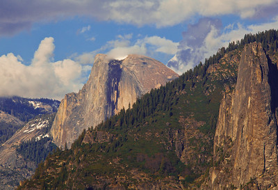 Half Dome from the Tunnel View, Yosemite National Park