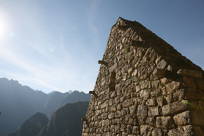 MACHU PICCHU, CUSCO, PERU - DiscoveryBound's 2014J NLC class visiting this historic Incan site.