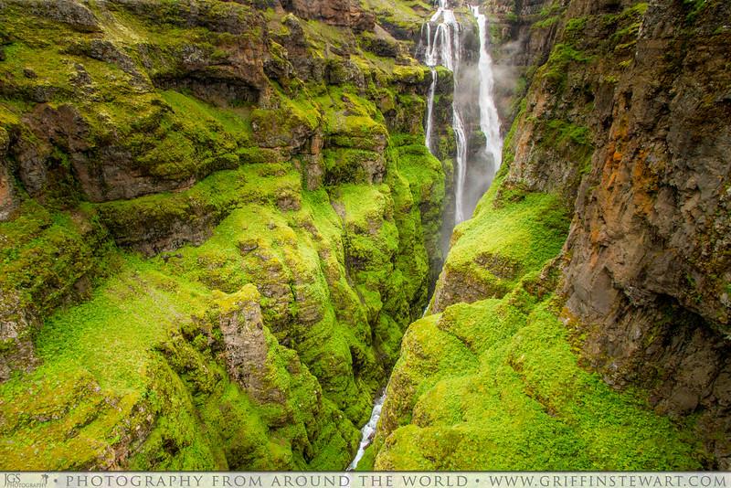 The Green Cliffs of Glymur