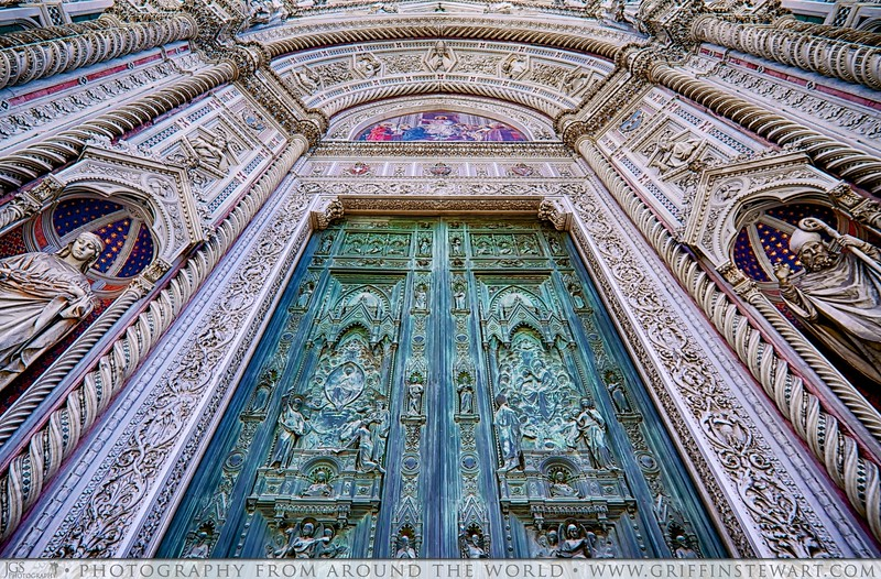 Entering The Duomo In Florence