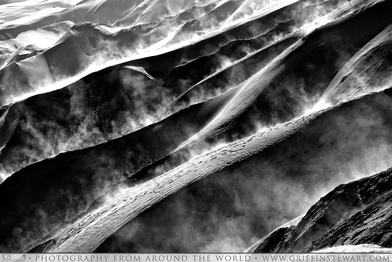 Steam Rising From The Volcanic Ash Aroun Mount Bromo